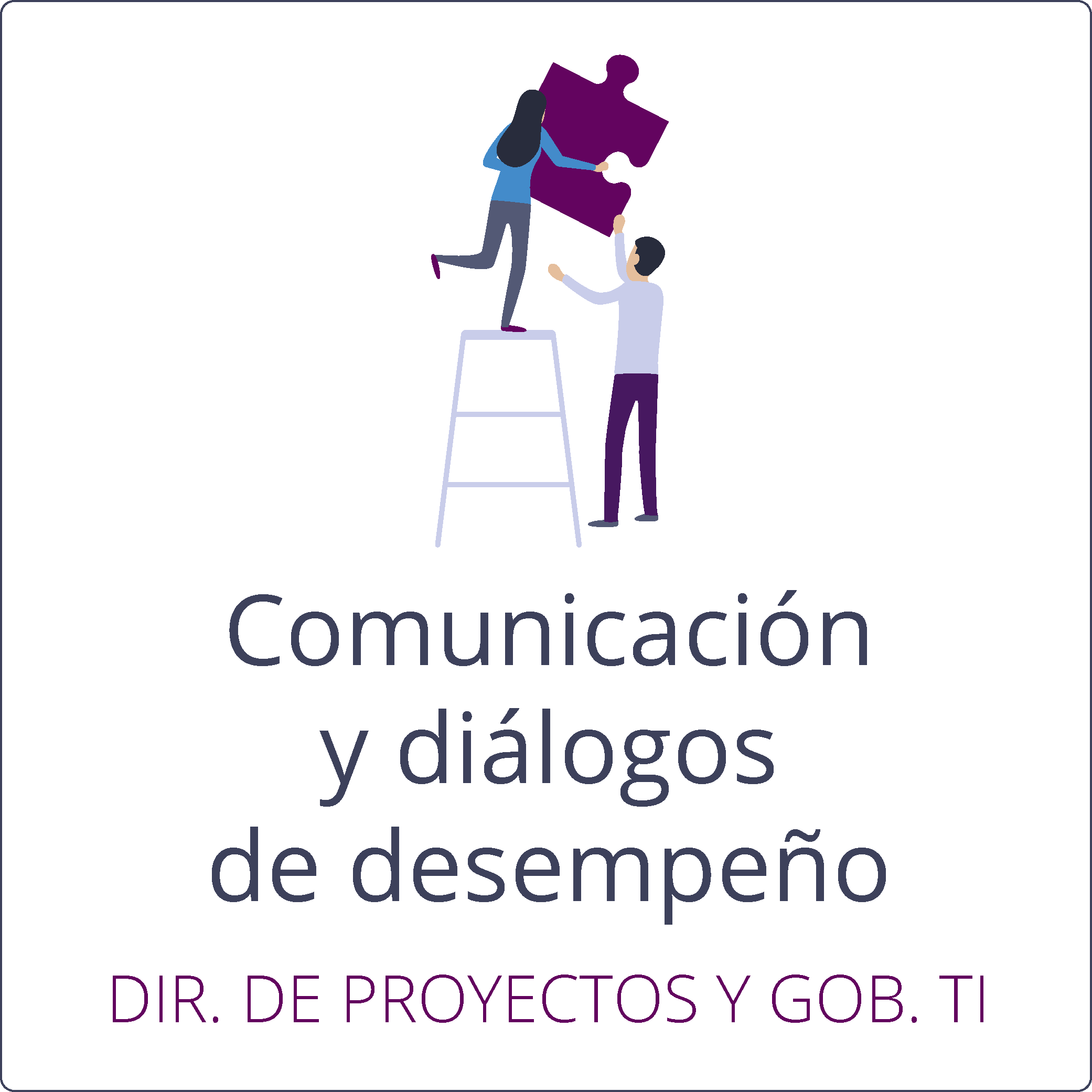 Comunicación y diálogos de desempeño