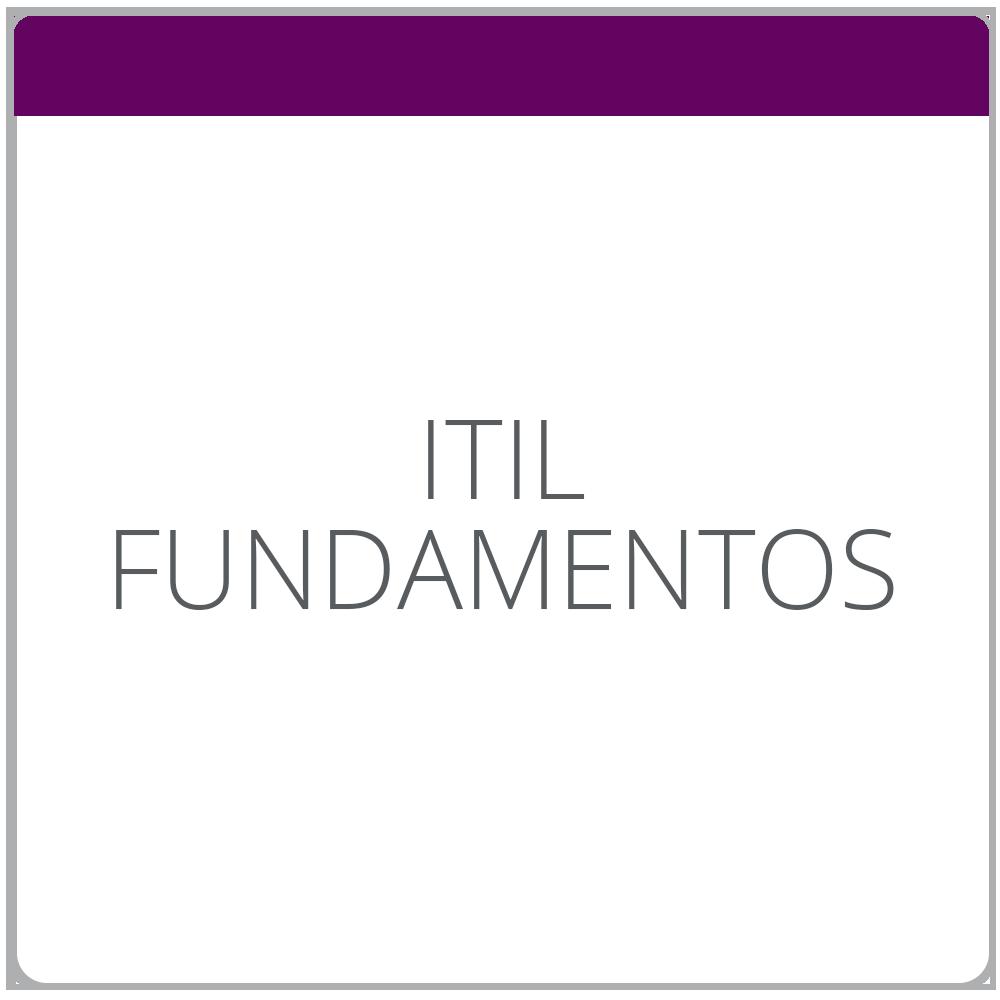 ITIL Fundamentos