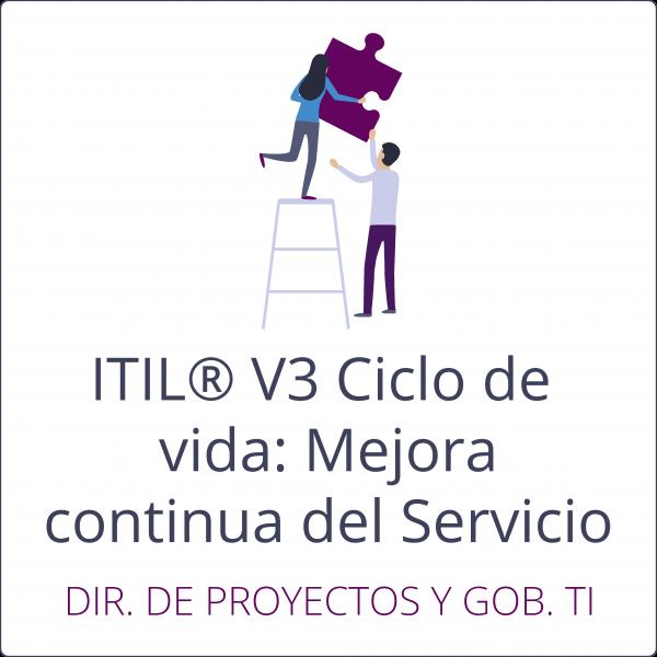 ITIL Mejora continua del servicio