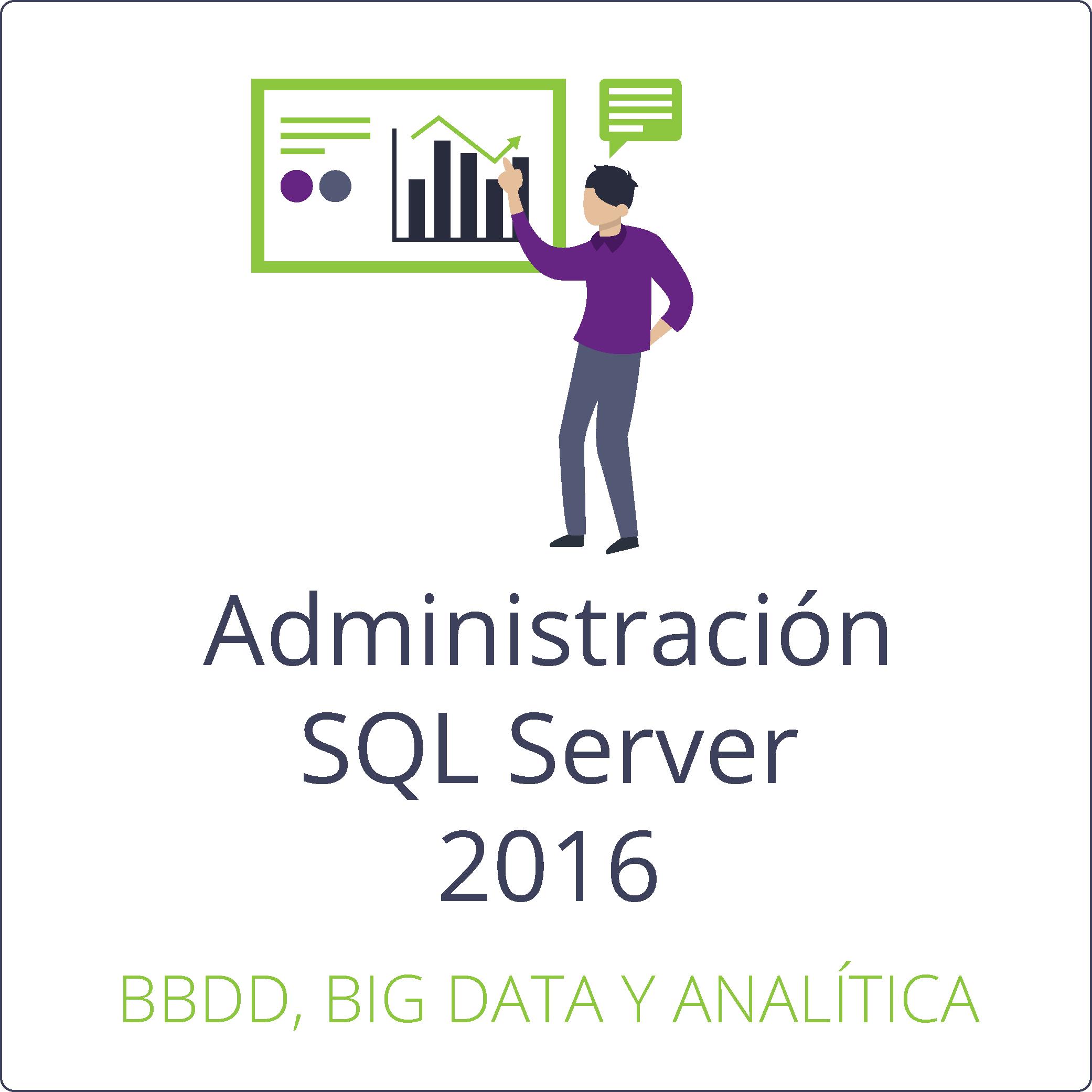Administración de una infraestructura de bbdd SQL Server