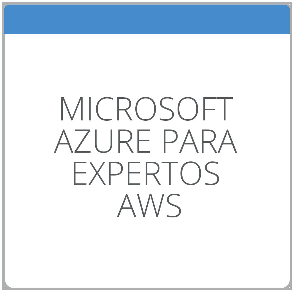 Microsoft Azure para expertos de AWS