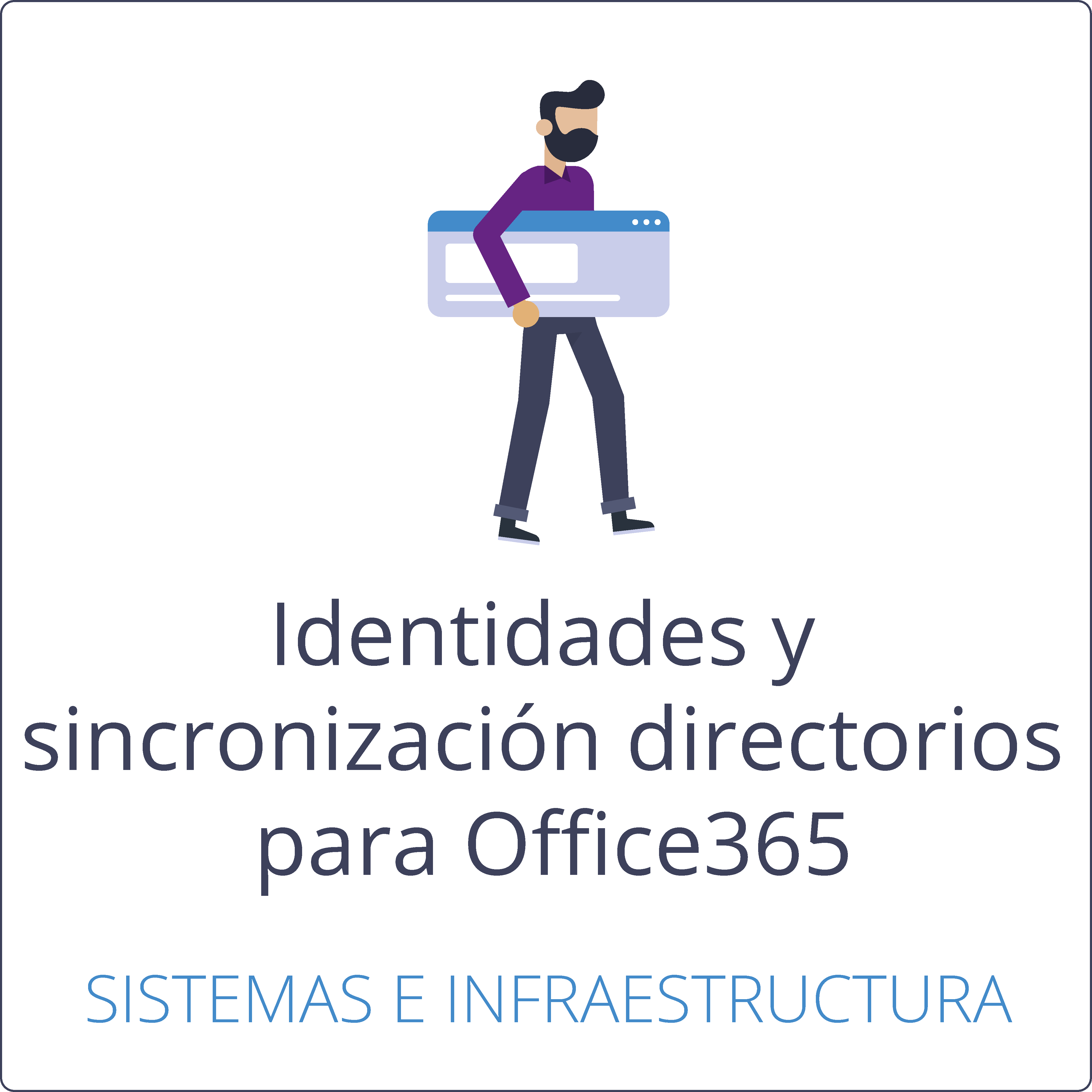 Identidades híbridas y sincronización de directorios para Office365