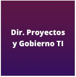 Dirección proyectos