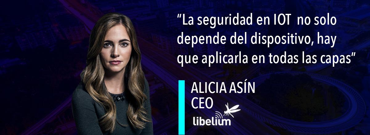 Alicia Asín de Libelium. Sensores que conectan el mundo