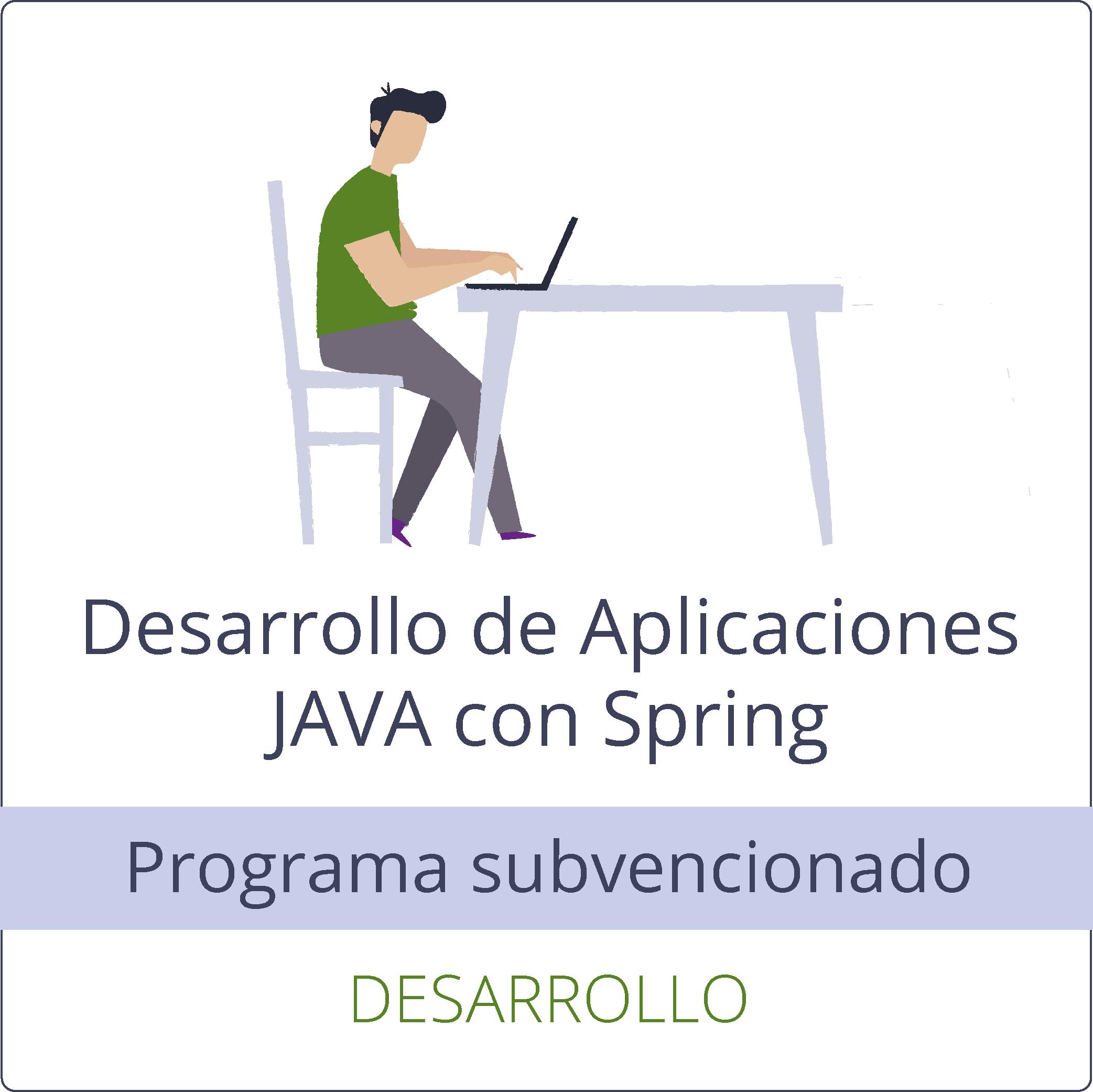 Desarrollo de aplicaciones JAVA con Spring (gratuito)
