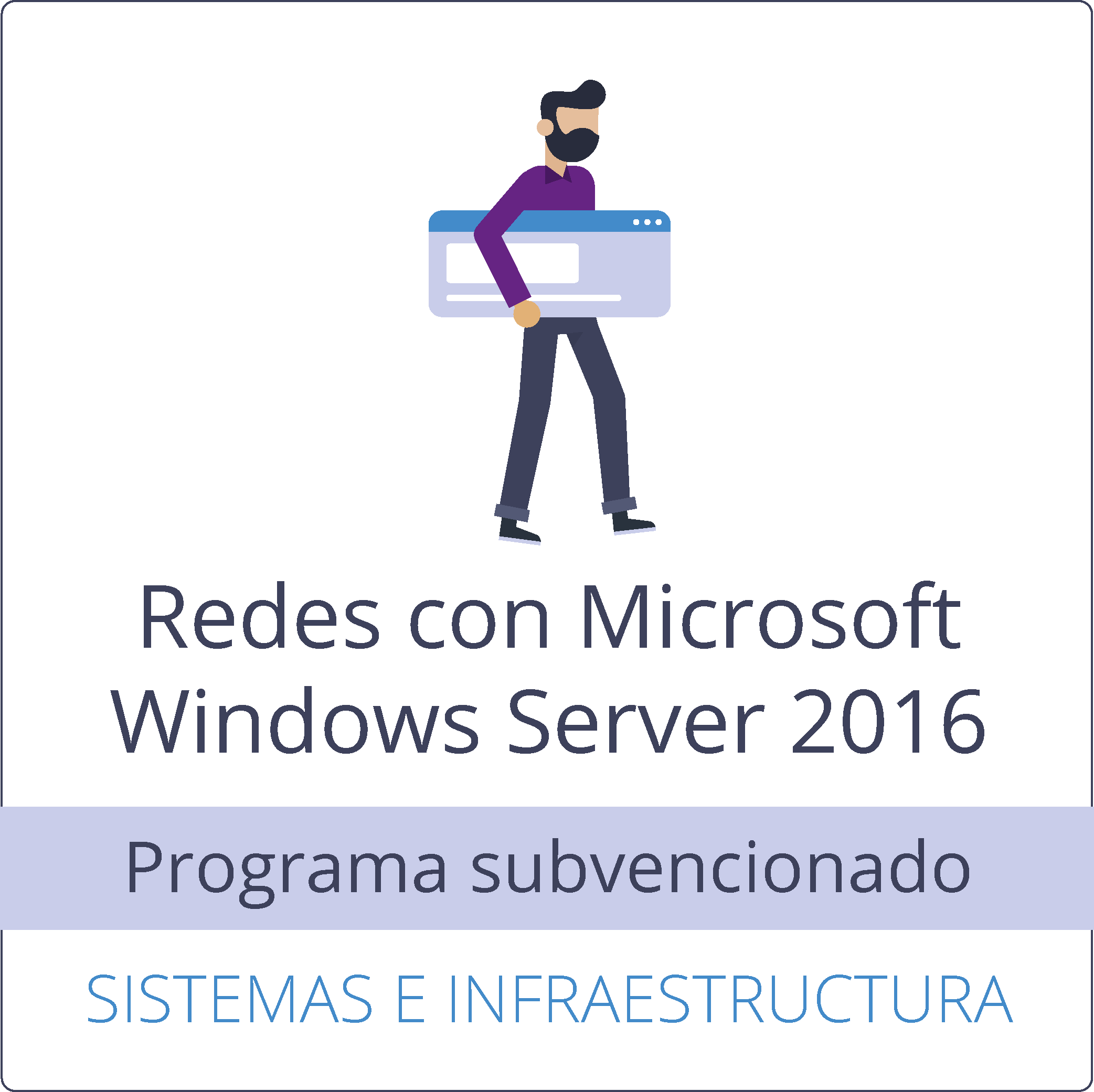 Redes con Microsoft Windows Server 2016 (gratuito)
