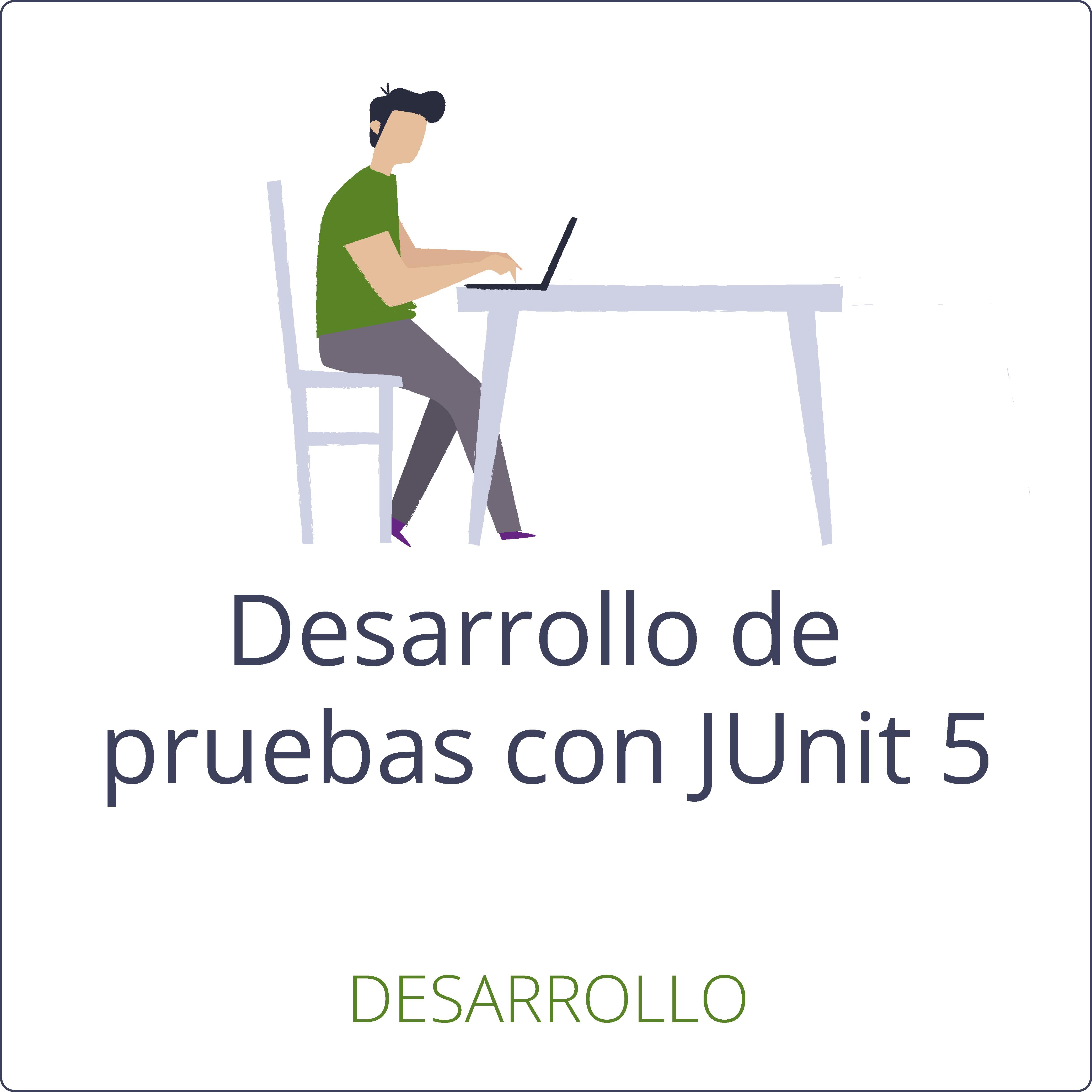 Desarrollo de pruebas con JUnit 5