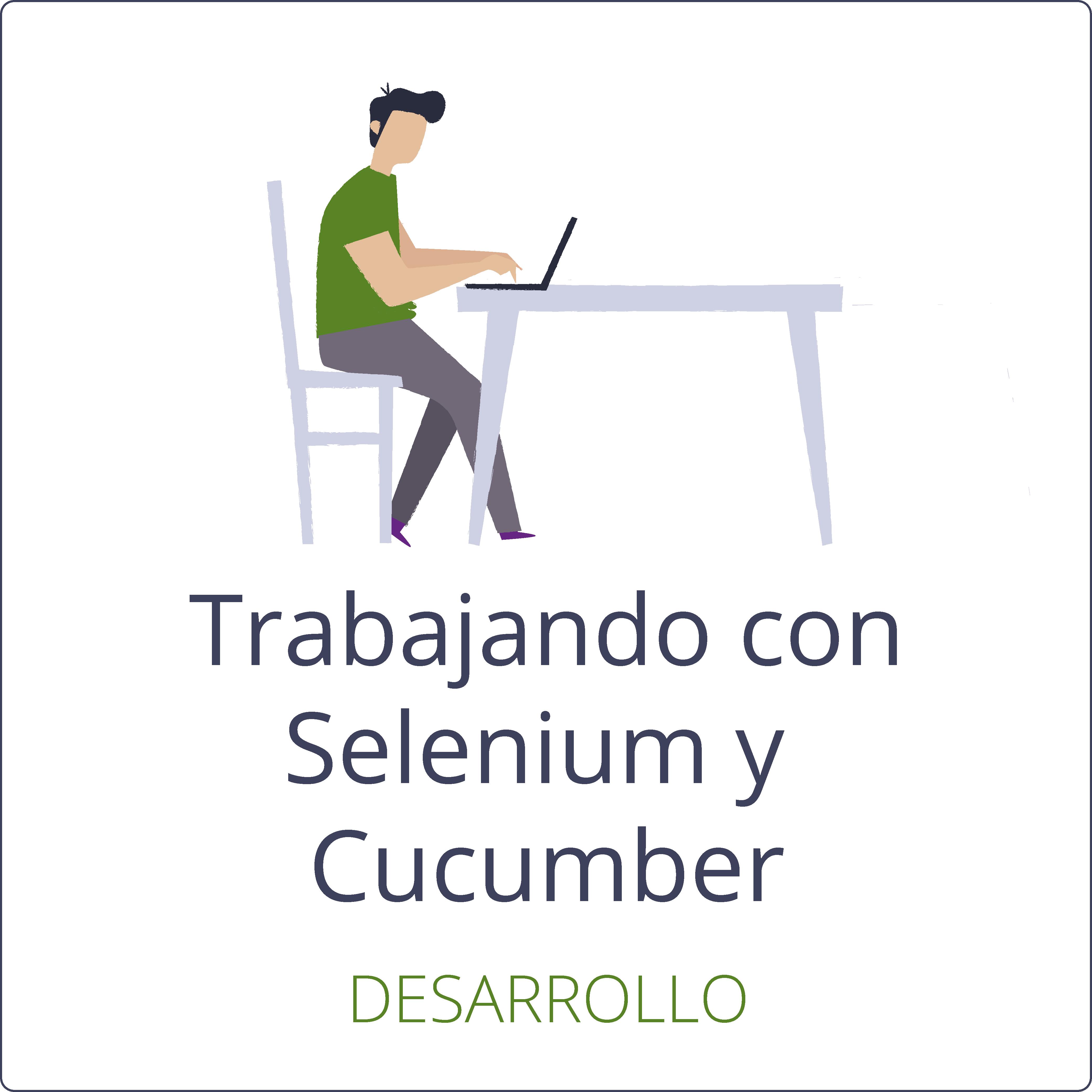 Trabajando con Selenium y Cucumber