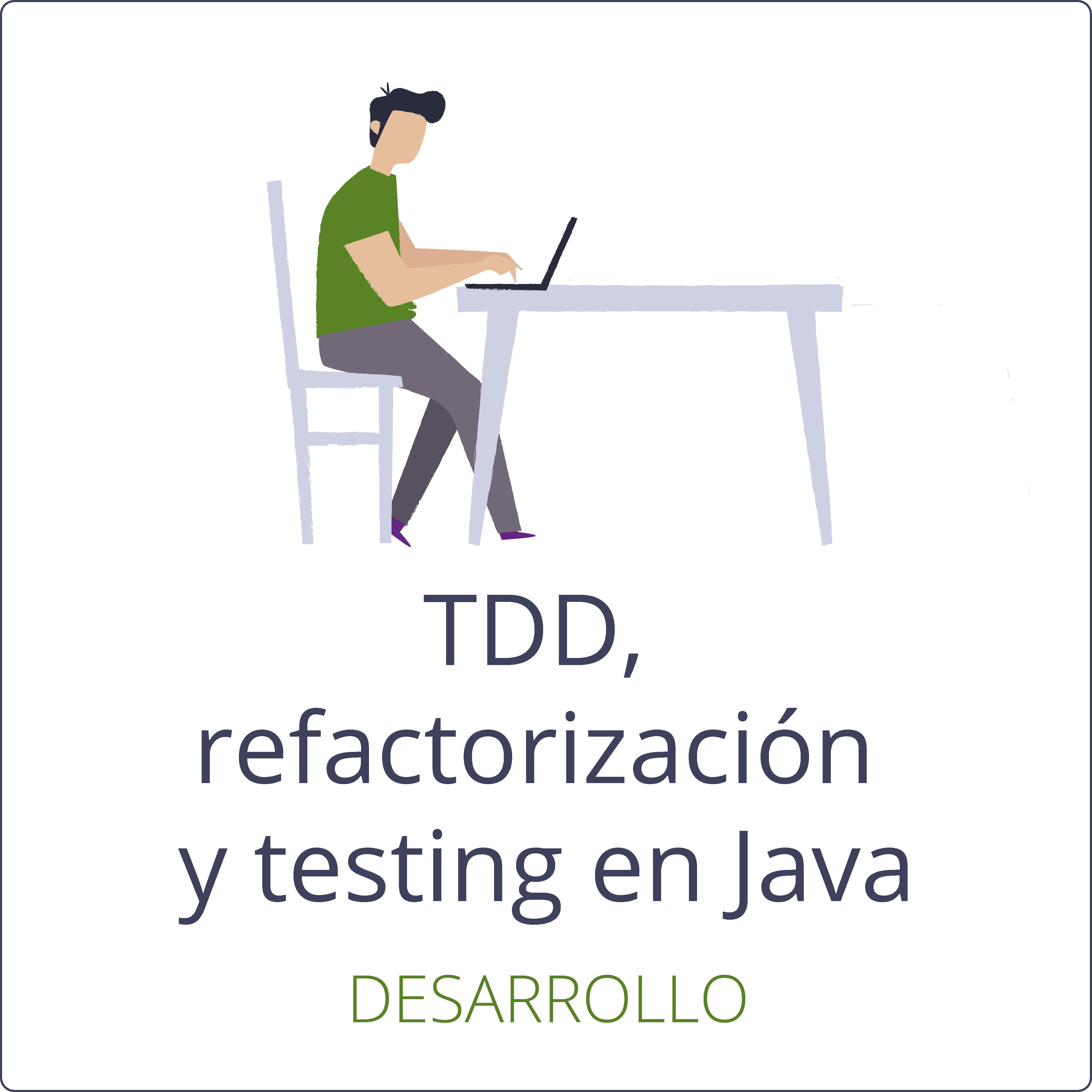 TDD, refactorización y testing en Java