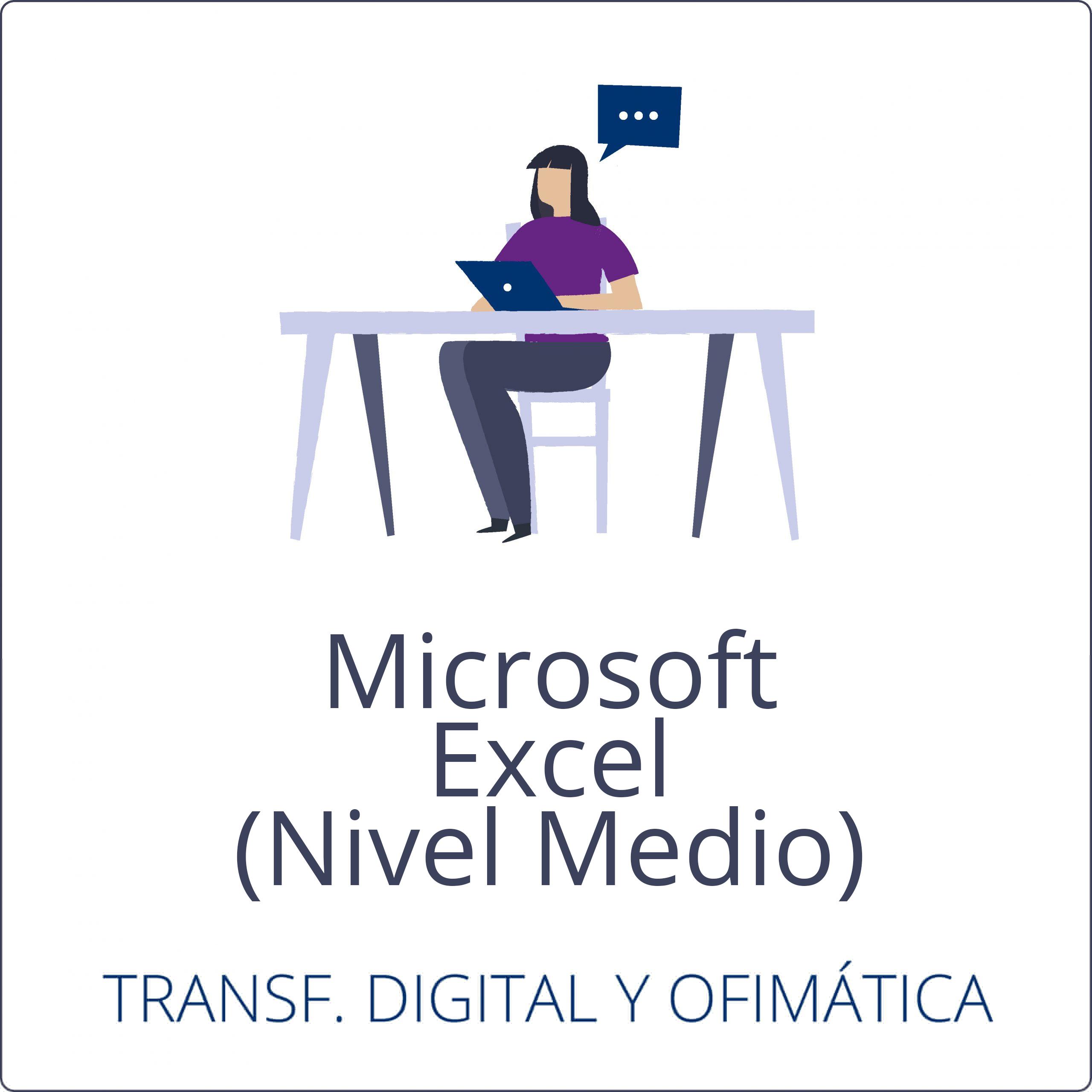 Microsoft Excel – Nivel Medio