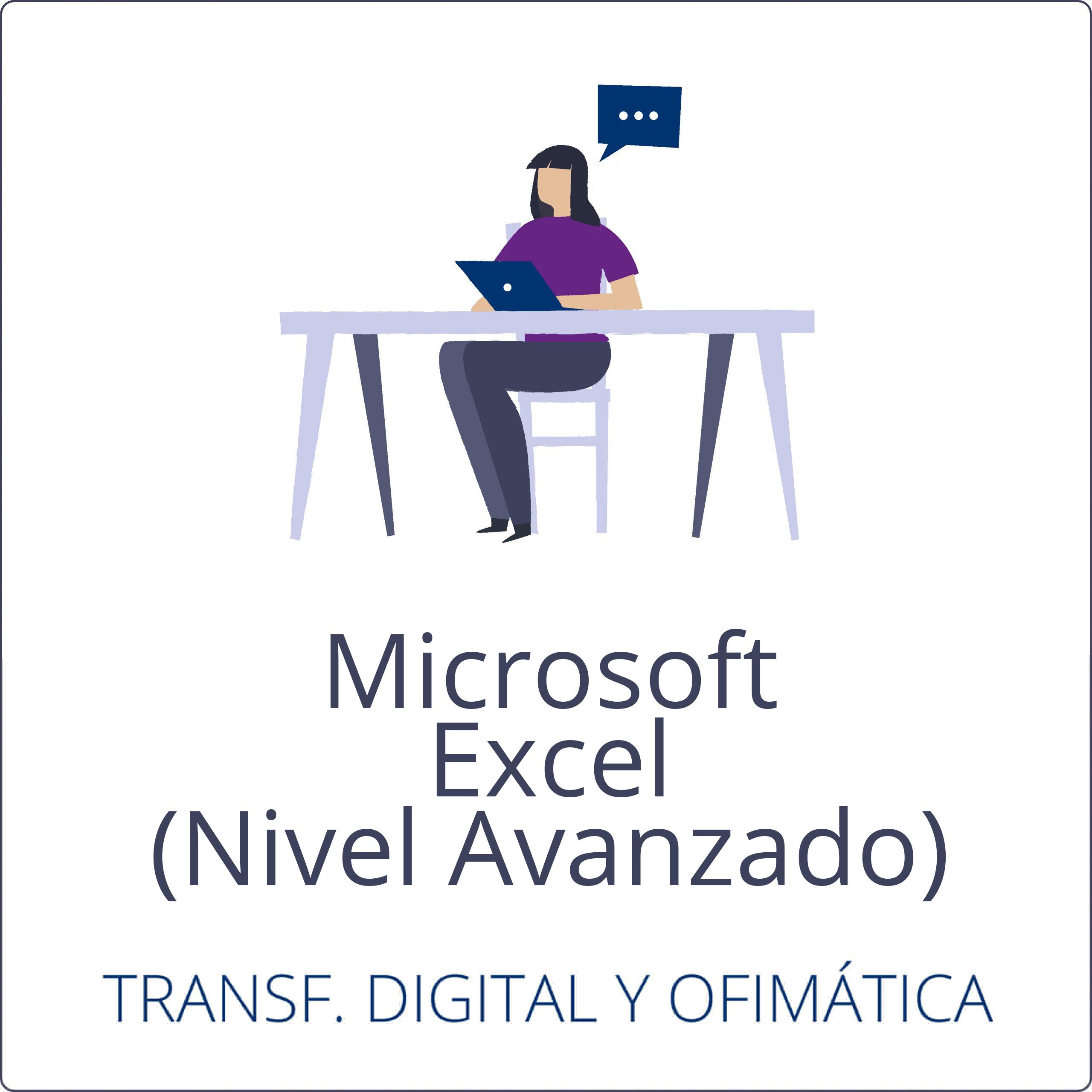 Microsoft Excel – Nivel Avanzado