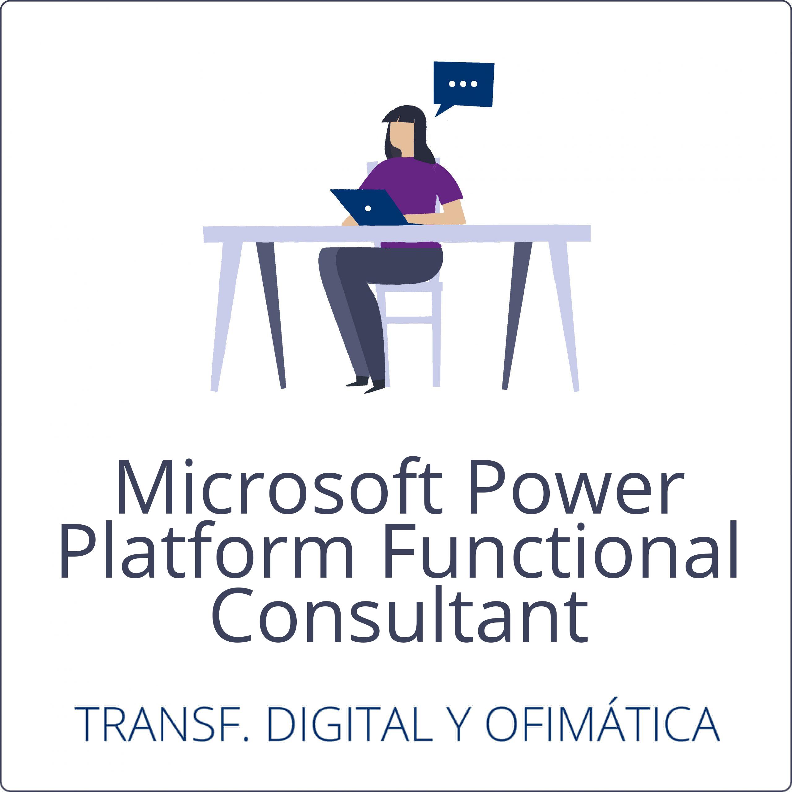 Microsoft Power Platform Functional Consultant